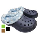 BOY' S FUR CLOGS ASSORTED SIZES ASSORTED PRINTED DESIGNS AND COLORS
