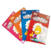 SUDOKU DIGEST BOOK 96 PG 5 X 7 INCH ASSORTED VOLUMES