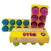 ICE POP MAKER 8 PK JEWEL SHAPE