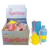 BABY CARE ACCESSORIES 4 ASSORTED IN DISPLAY - DRINKING CUP/ 2 PK BOTTLE BRUSHES/ BABY WIPE CASE AND 3 LAYER FORMULA AND SNACK HOLDER