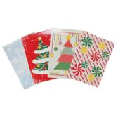 CHRISTMAS GIFT BOX 4 PACK 11 X 8 X 1.5 INCH SMALL
