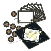 Awards Night Invitations & Seals fold & seal into self-mailers; prtd 2 sides