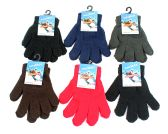 Children's Solid Color Magic Stretch Gloves