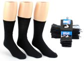 Men's Athletic Tube Socks - Black - Size 10-13