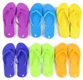 Children's Flip Flops - Solid Colors
