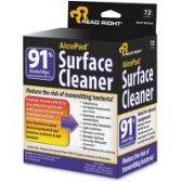Read Right AlcoPad Surface Cleaner Wipes