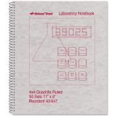 Rediform National Wirebound Laboratory Notebook