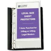 C-line Top Loading Legal Sized Sheet Protector