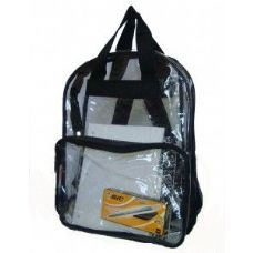 Clear PVC Backpack - Assorted Colors