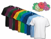 Fruit Of The Loom Mens 100% Cotton Assorted T Shirts, Assorted Colors Size XL