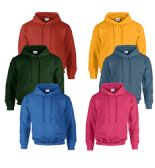 Gildan Unisex Mill Graded Irregular 2ND Hooded Pullover Sweat Shirts