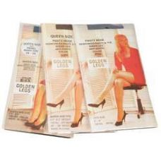 Ladies Golden Legs Sheer Pantyhose In Off White Queen Size