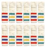 Yacht & Smith Men's 30 Inch Premium Cotton King Size Extra Long Old School Tube Socks- Size 13-16