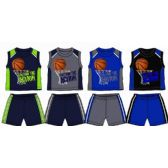 SPRING BOYS CLOSE MESH SHORT SETS INFANT