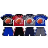 SPRING BOYS CLOSE MESH SHORT SETS Size INFANT