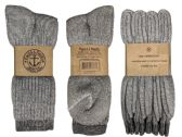 Yacht & Smith Terry Lined Merino Wool Thermal Boot Socks For Men And Woman Mix Pallet Deal