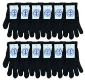 Yacht & Smith Unisex Black Magic Gloves 240 Pairs