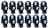 Yacht & Smith Adult Unisex Warm Winter Sets 72 Pairs Of Gloves And 72 Hats